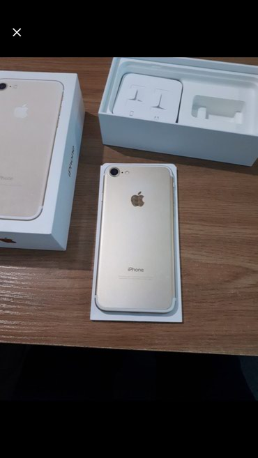 Iphone 7 gold 32 полный комплект  в Бишкек