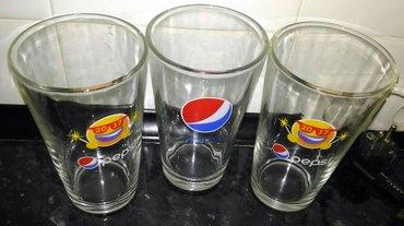 стаканы новые большие 0,5 литра, толстое стекло - 200 сом за 3 штуки,  в Бишкек