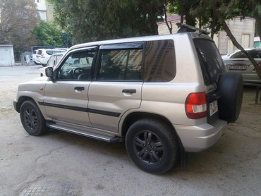 mersedes benz 1999cı il - Bakı: Mitsubishi Pajero Pinin 2 l. 2001 | 175000 km