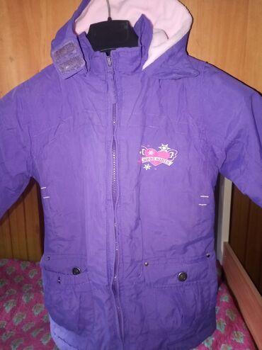 детская осенняя одежда в Кыргызстан: Детская куртка,деми весна- осень Состояние отличное 4-5 лет