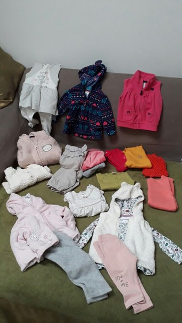 Ocuvana garderoba za bebu vel. 62-68. Carters, zara,h&m, c&a, - Belgrade