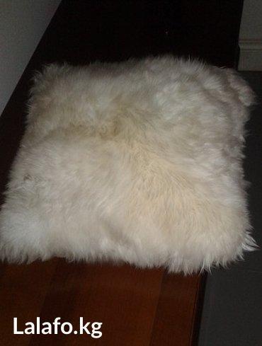 меховая декоративная подушка в Бишкек