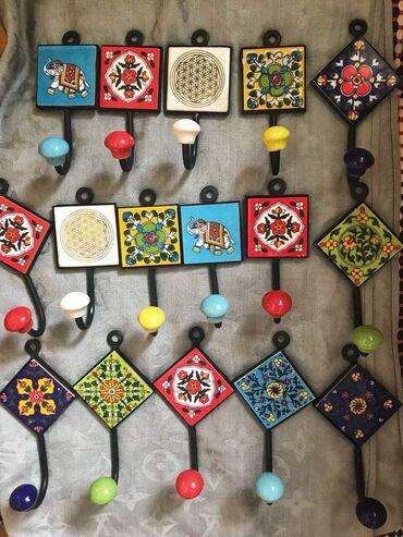 Крючки индийские керамические. Очень плотные и прочные. Привезли из