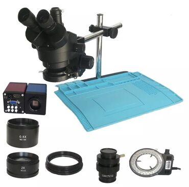 Микроскоп Тринокуляр ( trinokulyar microskop) Cemisi 1 ay