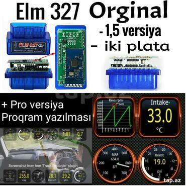 avto maşınlar - Azərbaycan: Elm 327 diaqnostika cihazı elm327 obd2autoskaner . obd elm