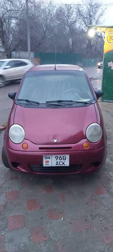 Daewoo Matiz 0.8 л. 2007   146000 км