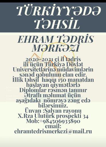 Türkiyədə Təhsil 20/21 çi il tədris ili üçün Türkiyə Dövlət