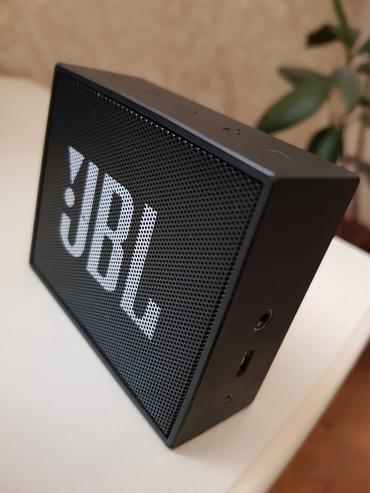 музыкальная-колонка в Кыргызстан: Оригинал колонка jbl Go. звук отличный звучит чисто приятно с бассами