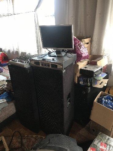 dvigatel n в Кыргызстан: Продам оборудования для караоке .Колонки 2 шт Верхние сдвоенный ф15