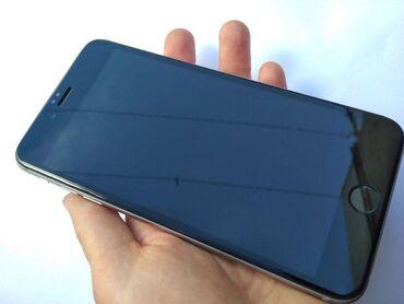 айфон 6 плюс цена in Кыргызстан | APPLE IPHONE: IPhone 6 Plus | 128 ГБ | Серебристый Б/У | Отпечаток пальца