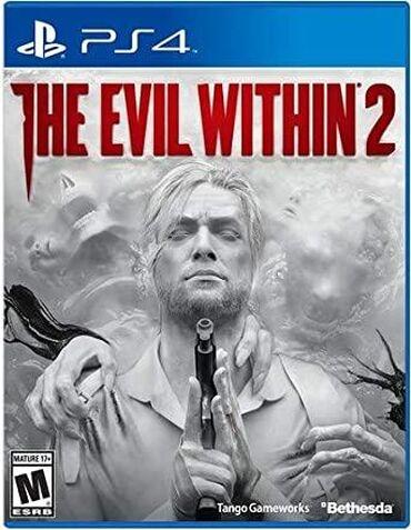 playstation 1 2 3 4 5 in Azərbaycan | DƏSTLƏR: The evil within 2.PlayStation 4 Oyunlarının Və Aksesuarlarının