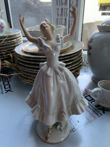 Статуэтки - Кыргызстан: Фарфоровая статуэтка, Германия, schaubachkunst. отколот пальчик