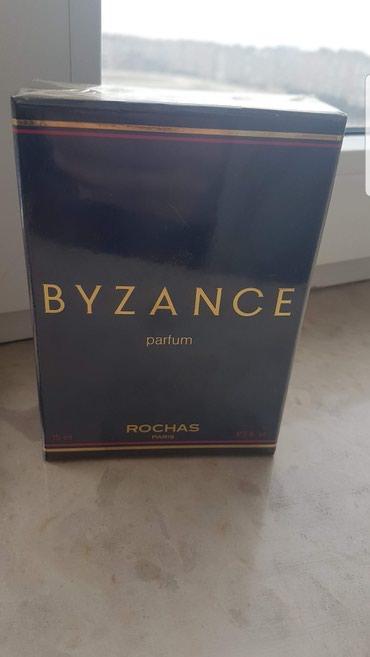 Bakı şəhərində Temiz gedimi BYZANCE Roshas Fransiz parfumu. 15 ml.Acilmayib.