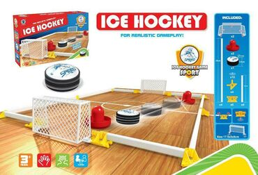 детские игрушки куклы в Кыргызстан: Хоккейный набор Интернет магазин игрушек ОкитойсУ нас вы можете