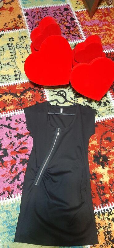 Ženska odeća | Srbija: Crna mini haljina novo s vel