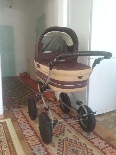 в Кочкор: Продается коляска в идеальном состоянии. Фирма BEBEKAR. Колеса