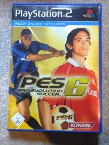 PS2 & PS1 (Sony PlayStation 2 & 1) | Srbija: PES 6=ispravne su testirane=neke imaju knizice neke ne stanje kao na