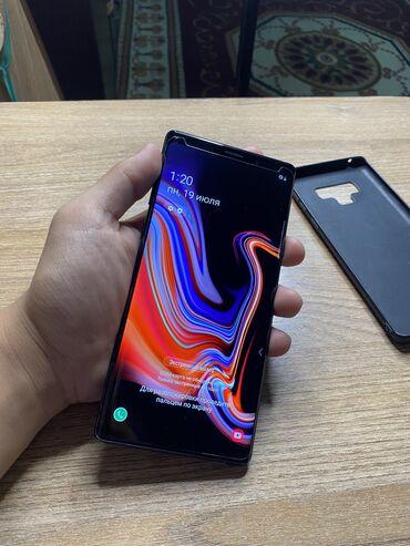 Samsung Galaxy Note 9 | 128 ГБ | Черный | Сенсорный, Отпечаток пальца, Беспроводная зарядка