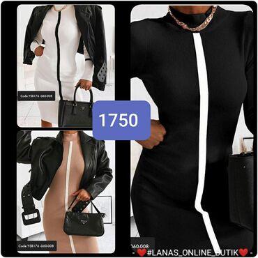 USka haljina S m l Bez, bela i crna