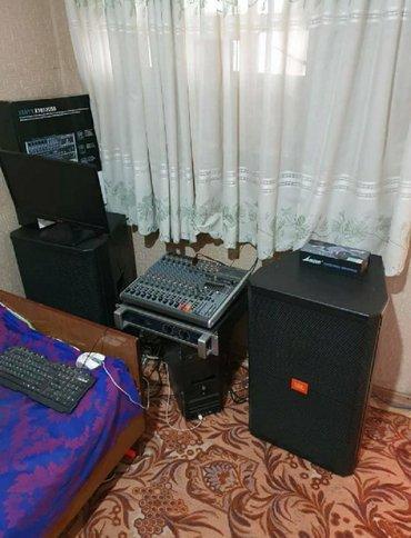 наушники jbl c45 bt в Кыргызстан: *Продаю комплект аппаратуры!* колонки jbl-srx 715 с самой мощной ком