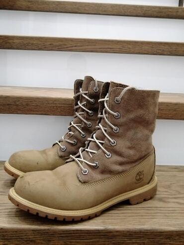 Zimska cipela Timberland u veoma dobrom stanju vodootporne, malo ošteć