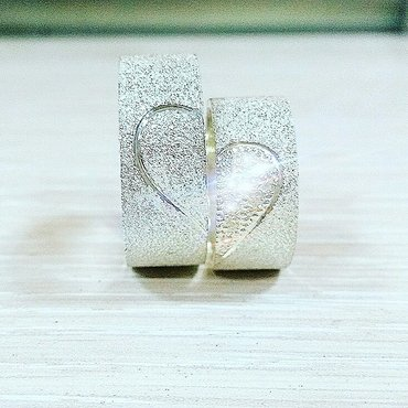 обручальные кольца парные  серебро 925 пробы  цена 35🅾🅾 пара в Бишкек