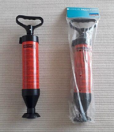 Υλικά κατασκευής και επισκευής - Ελλαδα: 2 τρόμπες απόφραξης Για απόφραξη αποχετεύσεων, σωληνώσεων, νιπτήρων