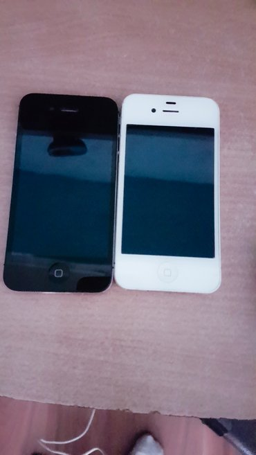 2 Iphona Crni i Beli Zakljucana iphone 4s - Backa Topola