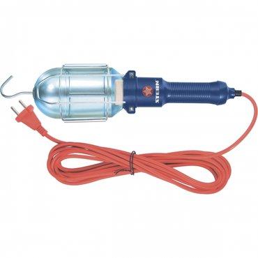 Электричество. Лампа переносная 60 w, кабель 5 метров sternПереносная