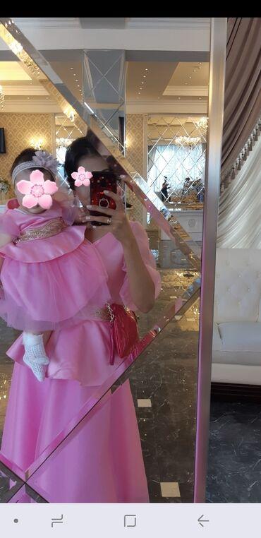 платье мама и дочь в Кыргызстан: Прокат платья мама(44-46) и дочь (1-2г) Цена договорная