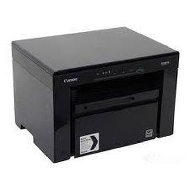 cherno-belyj-printer-a4 в Кыргызстан: МФУ Canon i-SENSYS MF3010 (A4, 1200x600dpi, 18ppm, 64Mb, cartr725)