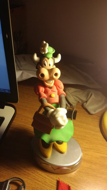 Clarabel Cow's statuette,from Deagostini's series Disney Collection. σε Χαϊδάρι