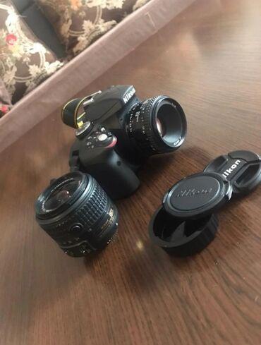 Электроника - Кыргызстан: Срочно продаю в отличном состоянии фотопарат Nikon d3300 Объектив кито