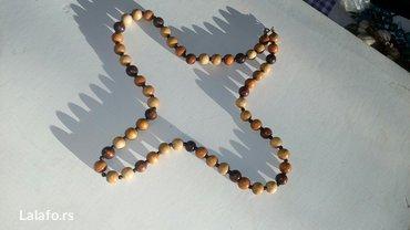 Drvena ogrlica bez ostecenja duzina 39cm - Cuprija