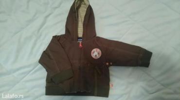 Suskava prolecna bebi jaknica, postavljena pamukom, vel. 62, - Nova Pazova