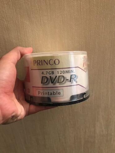 DVD-R Disklər Təzə paçka - açılmamış