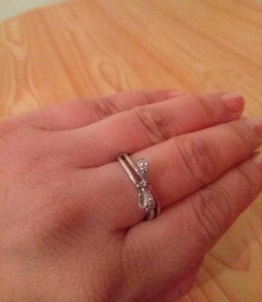 Кольцо, серебро, 17 размер