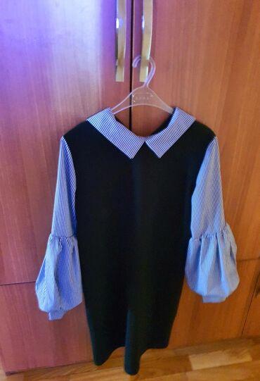 Элегантное платье для офиса размер 40. 15 азн