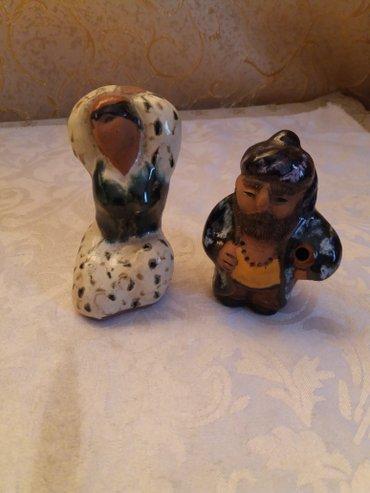 Керамические статуэтки. ручная роспись.   в Лебединовка