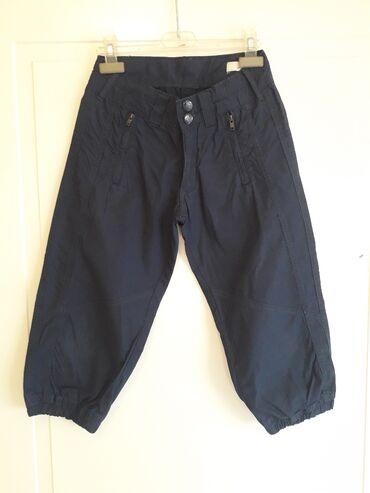 OVS 10-12(152)Pamucne malo sire pantalone duzine Do iznad zglobaTanji