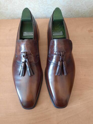 Личные вещи - Кок-Джар: Итальянская мужская обувь Berluti, 4 пары и 1 ремень(цена за ремень