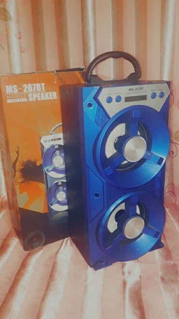 Аксессуары для мобильных телефонов - Кыргызстан: Состояние:Отличное,новое Динамика отличное Цвет:Синий(большой)бардов