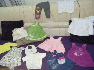 Na prodaju paket decije odece... 5 haljinica + bolero + bluzica + - Cuprija