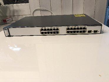 Elektronika - Smederevo: Cisco Catalyst (WS-C3750-24PS-S) 24-Ports