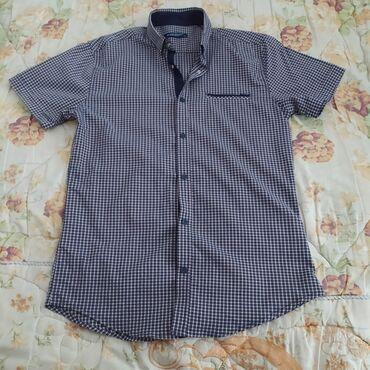 Новая рубашка с коротким рукавом. Размер 46-48. S/M