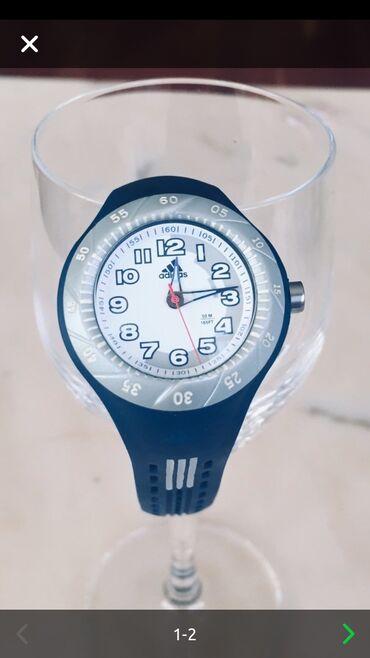 - Azərbaycan: Детские часы Adidas, ADP1658, синие.У самих часов есть ремешок из вент
