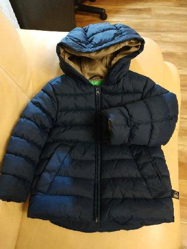 пуховик united colors of benetton в Кыргызстан: Фирменная, качественная куртка на 4-5лет. В идеальном состоянии. КУРТК