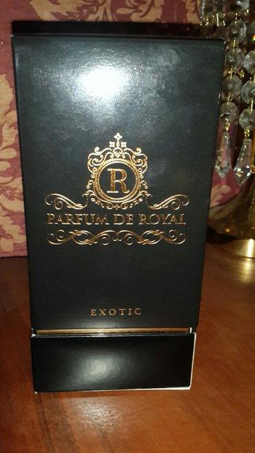Bakı şəhərində Parfum de royal  orijinal hediye verilib maqazinde 400azn