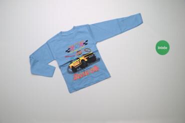 Топы и рубашки - Новый - Киев: Дитячий світшот з принтом автомобіля    Довжина: 40 см Ширина плечей