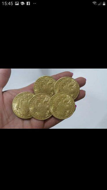 Religijski nakit - Srbija: Dukati Franc Jozef veci 14g teźine 39mm prečnik 24k pozlata